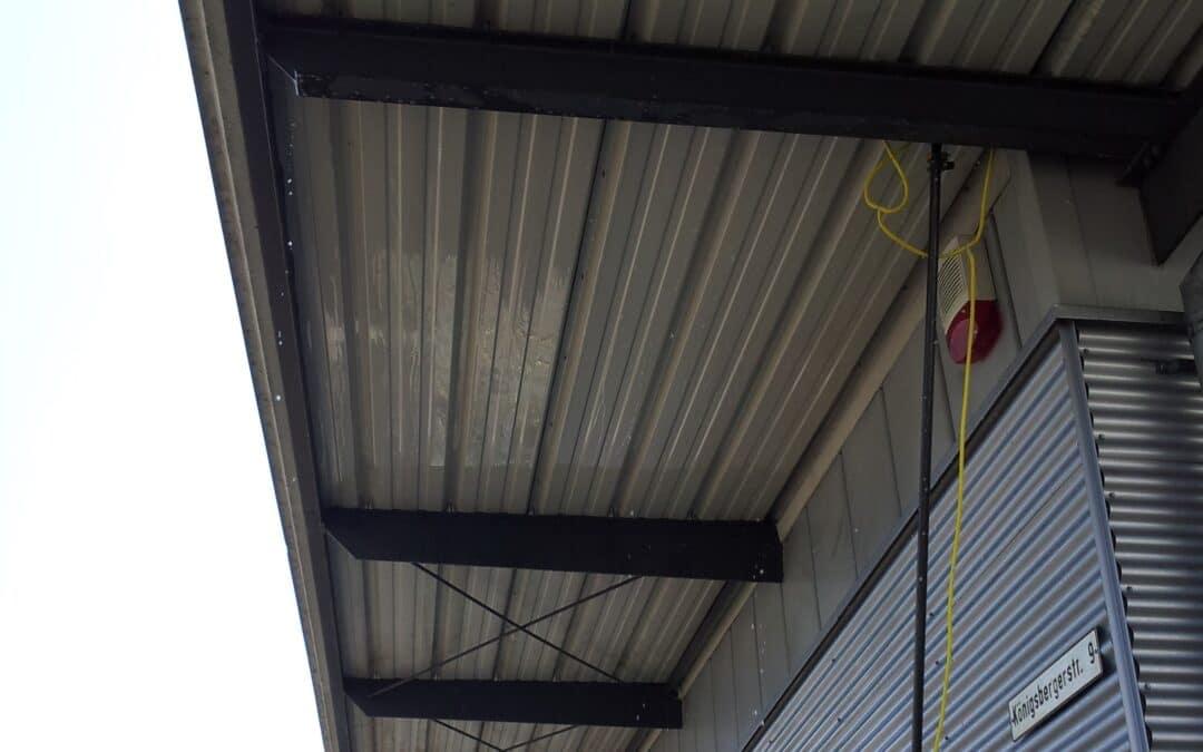 Vordach – Fassade