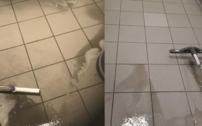 Grundreinigung im Hygienebereich