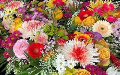 DANKE – Blumensträuße für das DLS-Team