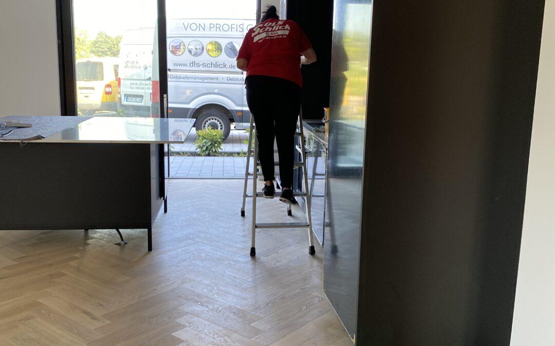 Bauabschlussreinigung bei unserem neuen Kunden