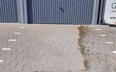 Parkplatzreinigung